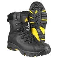Amblers Safety FS999 Waterproof Safety Footwear Black